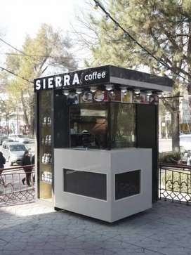cuma hari ini aja,CICILAN USAHA 6bln franchise es kopi container booth