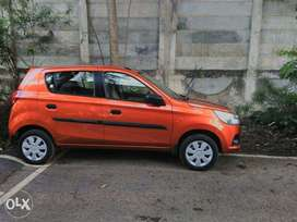 Alto K10 Automatic AMT,Tangy Orange,40k km done,gently used.
