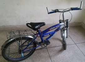20inch bicycle in blue colour