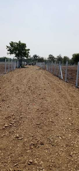 OPEN PLOTS FOR SALE AT MOINABAD