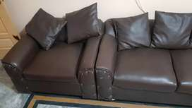 SoFa 7 Seater Set..Brown Color..For Sell