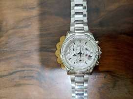 Original BONIA Ladies Chronograph watch with date and Multiple stones