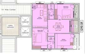 ^986sqft Carpet% 2BHK flat/ available in hyderabad
