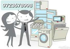 Repairing Fridge,ac,washing machine, microwave oven etc .