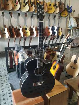 Gitar Akustik elektrik model cort standar
