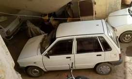 Mehran 2002 having A.C CNG
