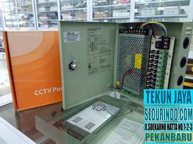 Power Supply CCTV 12V-10A + BOX