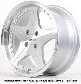 Jual Velg Racing HSR Utk Agya Sigra Lancer Mazda2 Mirage Dll