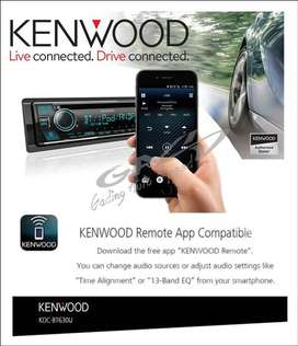 Kenwood KDC-BT630U Bluetooth USB CD Player Time Alignment 3XRCA Outs