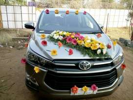 New Innova Crysta Car Available For Local And Outstation with driver.