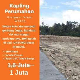 Pusat Ekonomi Baru di Area Fasilitas Publik Wates, Yuk Beli Tanah