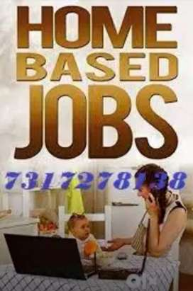 Earn extra do part time job with salary