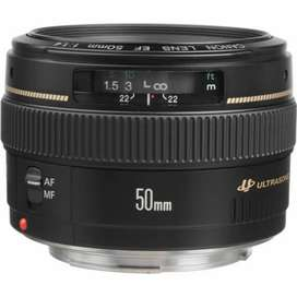 CANON 1.4 50MM AF/MF (Auto and Manual)