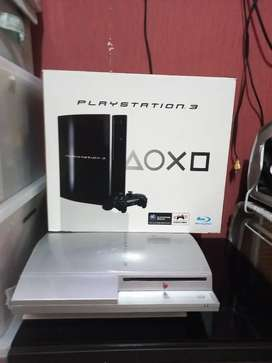 PS3 1200GB fat silver
