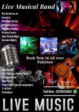 Musical Band for Weddings & Concerts , Private Events