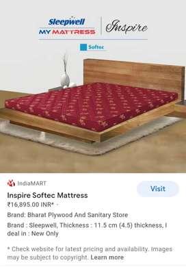 Queen size sleep well mattress to sell.