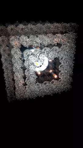 Lampu hias plafon (bekas)