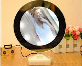 Magical mirror with photo fram