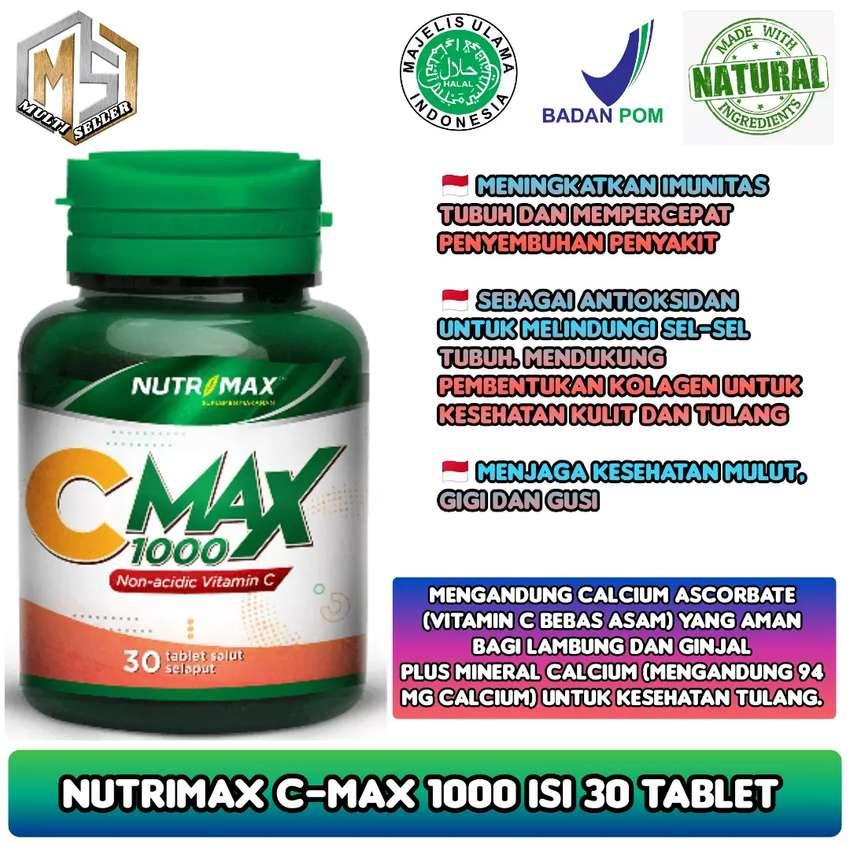 Nutrimax C Max 1000mg vitamin C aman di lambung - jaga imunitas tubuh