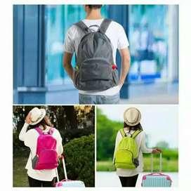 Tas Ransel Lipat Serbaguna - Foldable Backpack