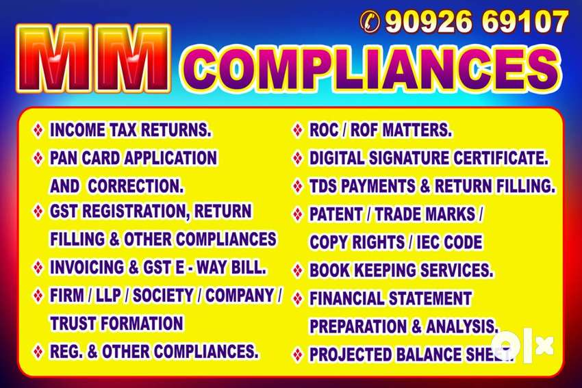 MM COMPLIANCE provide low price services (not a job)
