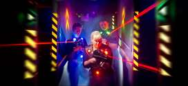 Laser Tag Gaming equipment - 8 Players (INR 4.4 lakh)