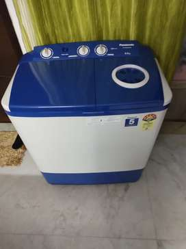 Panasonic 6.5 kg 1 week old washing machine bought from Amazon's