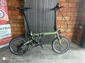 Sepeda lipat Camp Hazy 9 speed