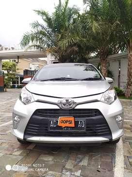 Toyota calya 2016 type G asli AD KM rendah