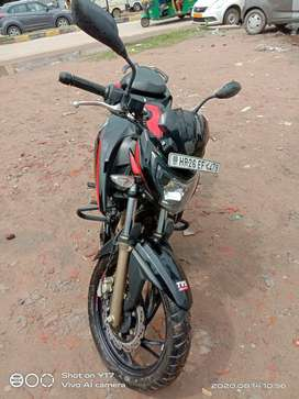 TVS APACHE 4V XCONNECT DOUBLE CHANNEL ABS 2020 MODEL BS 4