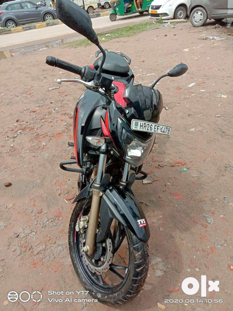 TVS APACHE 4V XCONNECT DOUBLE CHANNEL ABS 2020 MODEL BS 4 0