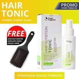 BISA COD - DISKON 10% Hair Tonik Penumbuh Rambut Botak Green Angelica
