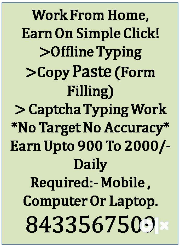 Earn 8000 to 24000 as part time in mumbai 0
