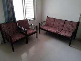 Powder coated sofa set