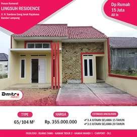 Lingsuh residence cluster mewah siap huni