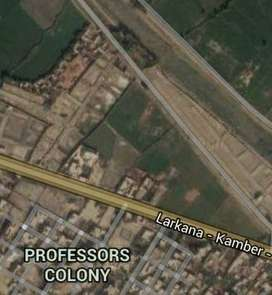 Near City Larkana a Land for your Bussiness only