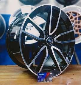 Velg Mobil Import HSR NANGA Ring 18 Untuk Mercedez Benz Dan Lain Lain