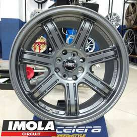 pelek mobil cayla ring 17 HSR SIAK R17 pcd 4x100 dan 4x114,3 Grey