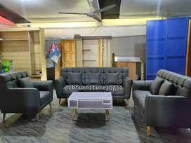 sofa tamu model 321 + meja murah