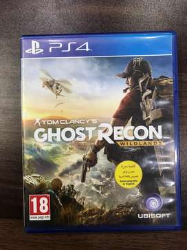 Ps4 Ghost recon wildlands for sale