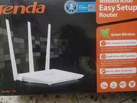 Tenda Wireless N300 Router. Only for Rs.699
