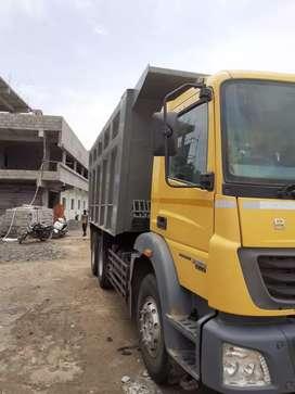 2018 Bharat Benz 2523 10 wheel tipper