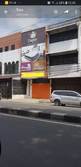 Dijual 1 unit Ruko Usaha 5x35m Lokasi Jl. HM Yamin Medan