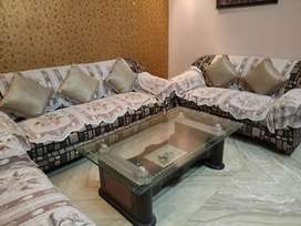 Sofa Set (7 Seater) With Center Table (Couch)