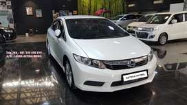 KM 47.000 Honda Civic 1.8 AT Matic 2013 Putih ASTINA MOBIL