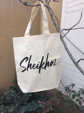 Cotton bags, Eco bags, fabric bags.