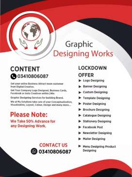 Freelancing graphics designing (fb post)( logo)(visiting card)banner