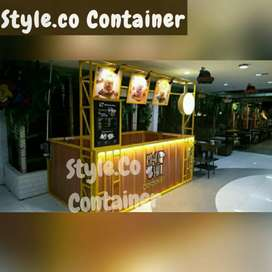 BOOTH SEMI CONTAINER | BOOTH USAHA OUTDOOR | BOOTH CONTAINER FRANCHISE