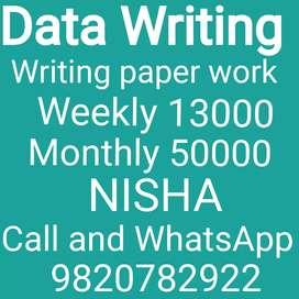 Easy Writing Work