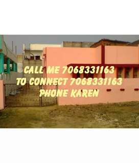 Godam Office independent house for rent on road Awaaz Vikas condition